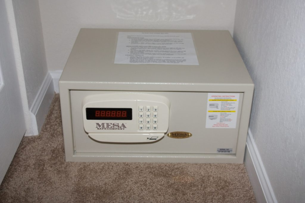 Master Bedroom Safes - 1 of 2