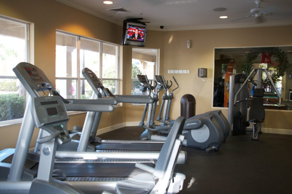 Windsor Hills Clubhouse Fitness Room